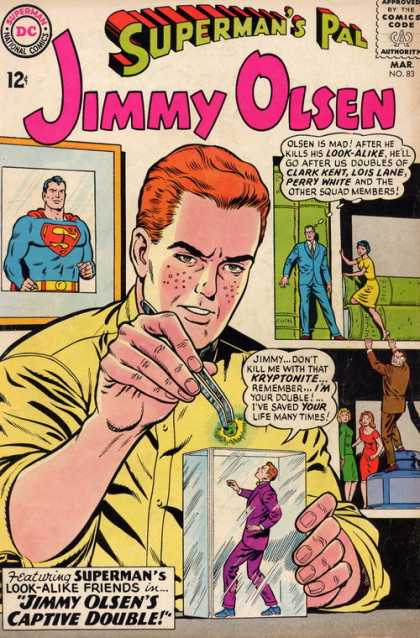 Jimmy Olsen 83 - Supermans Pal - Number 83 - 12 An Issue - Captive Double - Jimmys Double