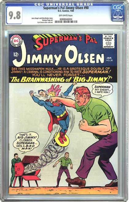 Jimmy Olsen 90 - Superman - Spring