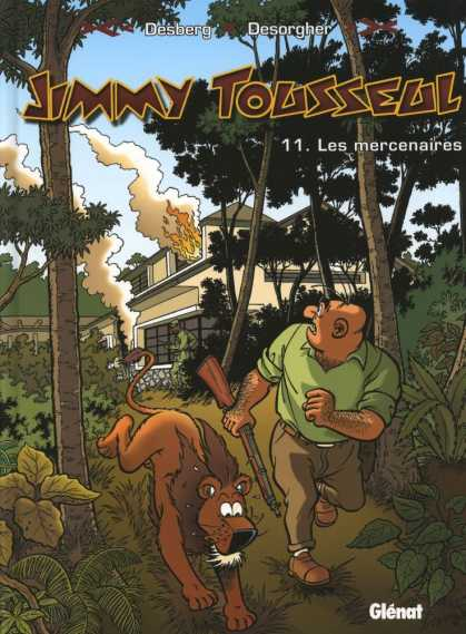 Jimmy Tousseul 5 - House - Fire - Forest - Hunter - Lion