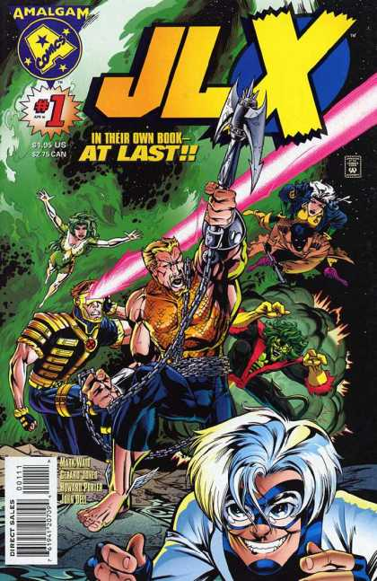 JLX 1 - Super Team - Warriors - Mutants - Super Heros - Super Villians - Howard Porter