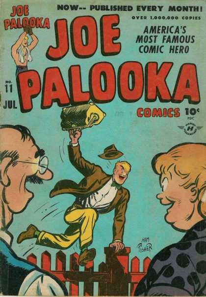 Joe Palooka 11 - Boxing - Joe Palooka - Comic Hero - Champion - Cartoon - Joe Simon
