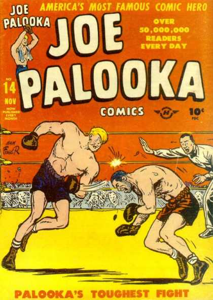 Joe Palooka 14 - Hero - Boxing - Toughest Fight - Americas Comic Hero - Victory - Joe Simon