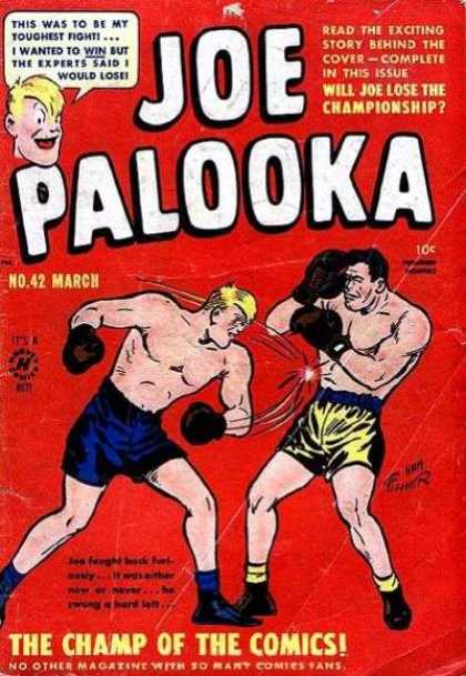 Joe Palooka 42 - Boxer - Championship - Comics - Fight - Story - Joe Simon