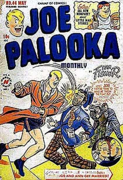 Joe Palooka 44 - Comics - Get - Married - Little - Stories - Joe Simon