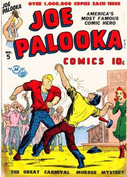 Joe Palooka 5 - Fightind - Hammer - Men - Woman - Street - Joe Simon