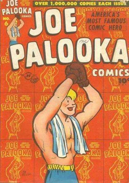 Joe Palooka 6 - Americas Most Famous Comic Hero - No6 - Glouse - Towel - Belt - Joe Simon