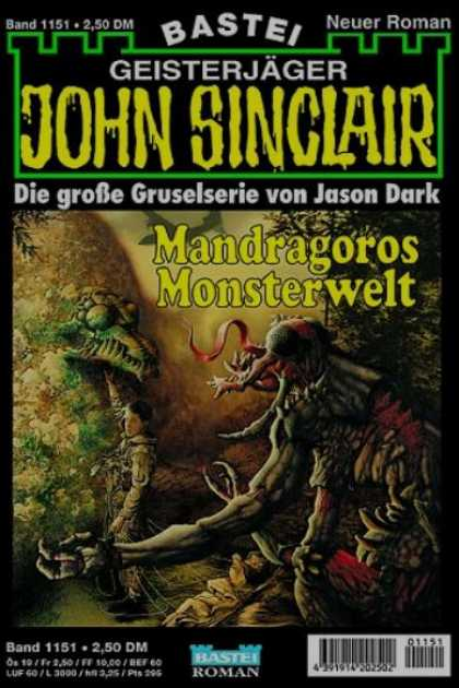 John Sinclair - Mandragoros Monsterwelt