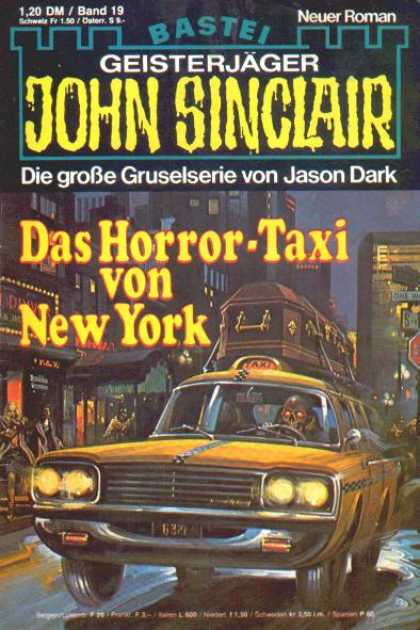 John Sinclair - Das Horror-Taxi von New York