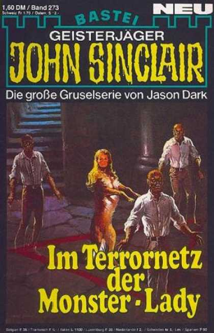 John Sinclair - Im Terrornetz der Monster-Lady