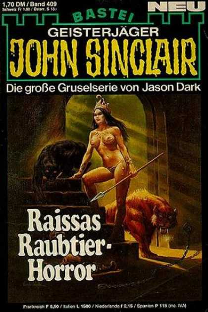 John Sinclair - Raissas Raubtier-Horror