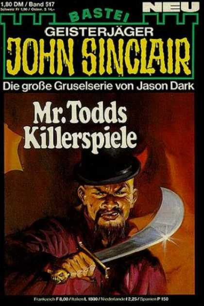 John Sinclair - Mr.Todds Killerspiele