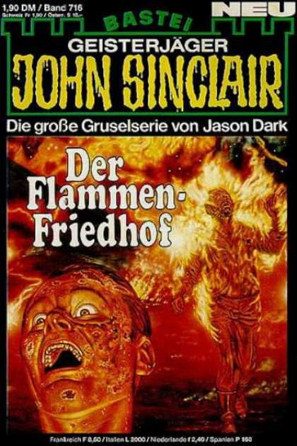 John Sinclair - Der Flammen-Friedhof