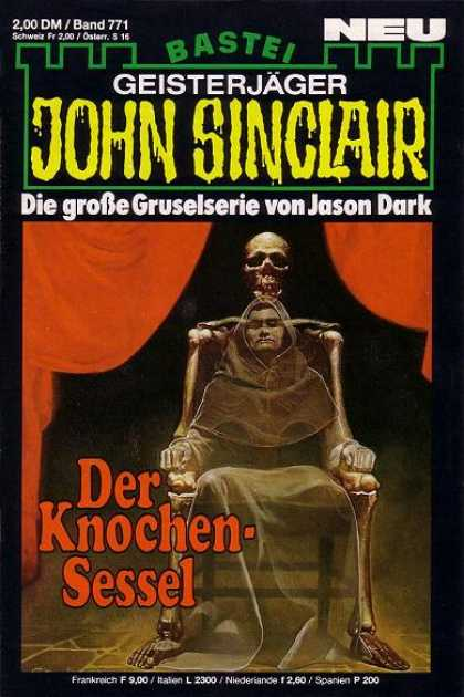 John Sinclair - Der Knochen-Sessel