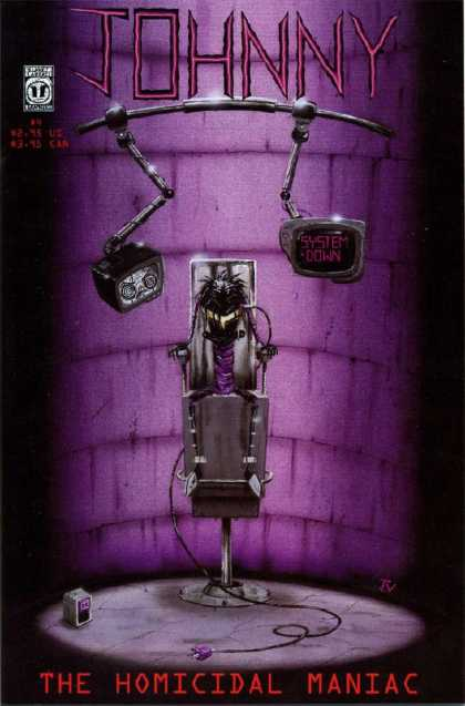 Johnny the Homicidal Maniac 4 - Horror - Modern Age - Independant Comics - Sci-fi - System Down - Jhonen Vasquez