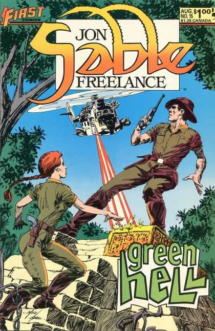 Jon Sable Freelance 15 - Mike Grell