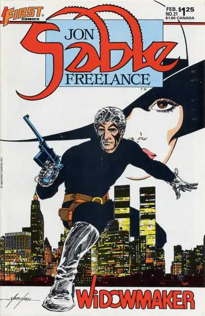 Jon Sable Freelance 21 - Mike Grell