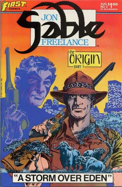 Jon Sable Freelance 3 - Mike Grell