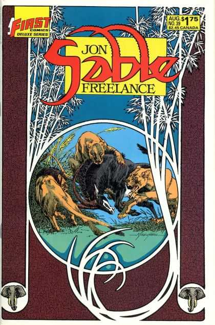 Jon Sable Freelance 39 - Mike Grell
