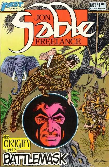 Jon Sable Freelance 4 - Mike Grell