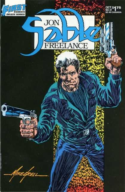 Jon Sable Freelance 41 - Mike Grell