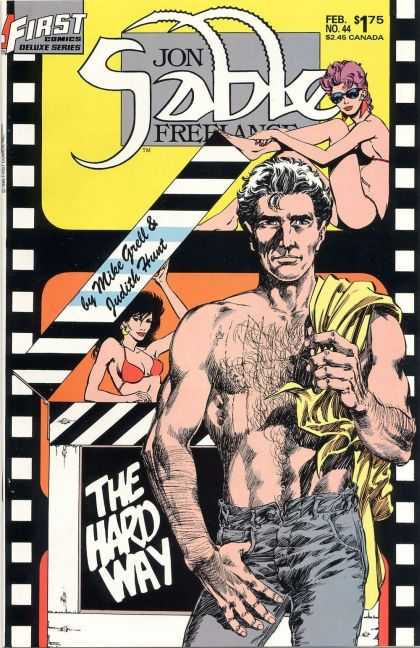 Jon Sable Freelance 44 - Mike Grell