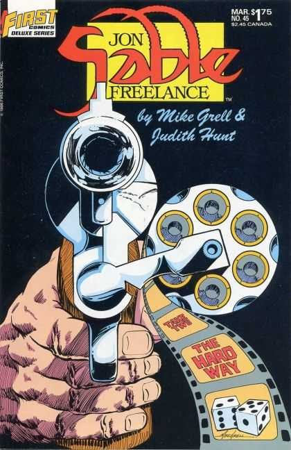 Jon Sable Freelance 45 - Mike Grell