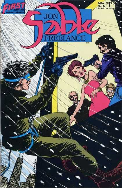 Jon Sable Freelance 47 - Mike Grell