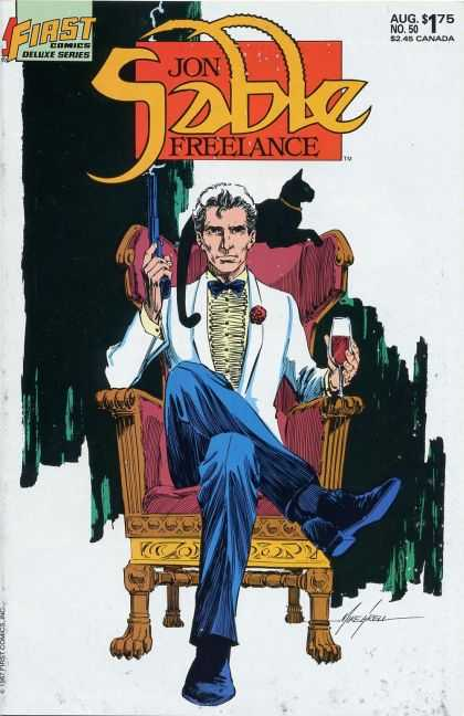 Jon Sable Freelance 50 - Mike Grell