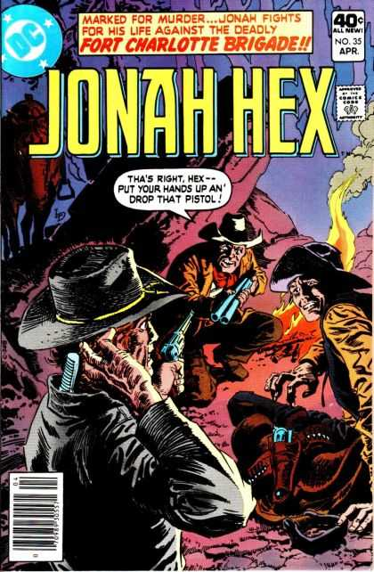 Jonah Hex 35 - Fort Charlotte Brigade - Outnumbered - Wild West - Marked Man - Fight For His Life - III Williams, Luis Dominguez