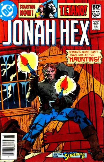 Jonah Hex 53 - Dc - Tejano - Approved By The Comics Code Authority - No53 - Oct - Tony DeZuniga