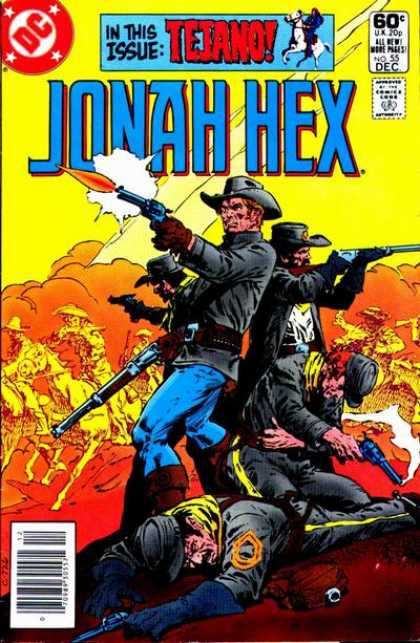 Jonah Hex 55 - Issue - Tejano - War - Guns - Soldiers - Tony DeZuniga