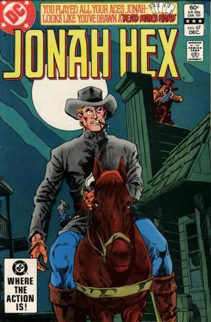 Jonah Hex 67 - Cowboys - Rifle - Horse - Moon - House