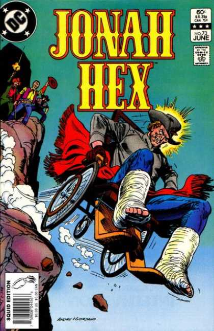 Jonah Hex 73 - Dc - Gun - Cowboy - Chair - Mountain - Dick Giordano, Ross Andru