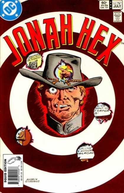 Jonah Hex 74 - Dc - No 74 - 74 - July - Bullseye - Dick Giordano, Ross Andru
