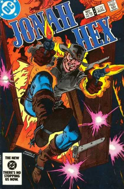 Jonah Hex 75 - Dc - Guns - Comics Code - Cowboy - Flame - Dick Giordano, Ross Andru