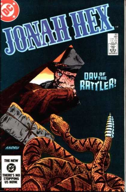 Jonah Hex 80 - Day Of The Rattler - Andru - Rattle Snake - Package - Man - Ross Andru