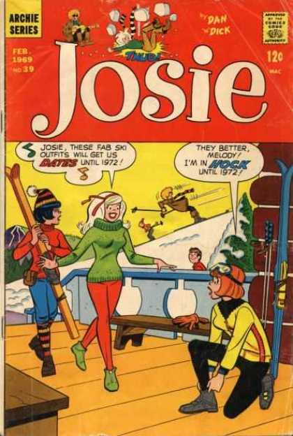 Josie 39 - Girls - Skiing - Ski Bunnies - 1972 - Snow