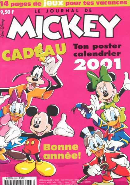 Journal de Mickey 2 - Goofy - Minnie Mouse - Donald Duck - Mickey Mouse - Scrooge