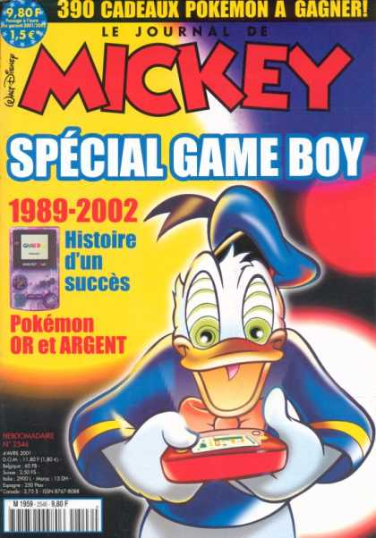Journal de Mickey 4 - Game Boy - Donald Duck - 1989-2002 - History - Success