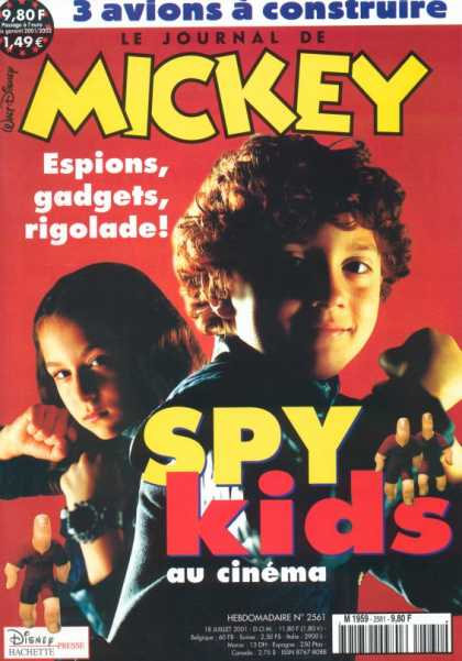 Journal de Mickey 7 - French - Spy Kids - Gadgets - Fists - Watch