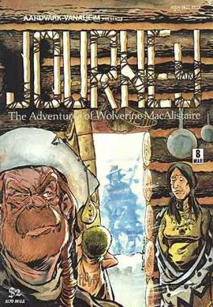 Journey 8 - Unknown Comic - March Issue - Western Time Period - Log Cabin - Indian - William Messner-Loebs