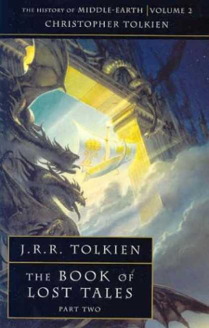 J.R.R. Tolkien Books - The Book of Lost Tales 2: Pt. 2 (History of Middle-Earth)