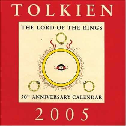 J.R.R. Tolkien Books - Tolkien Calendar 2005: The Lord of the Rings 50th Anniversary Calendar