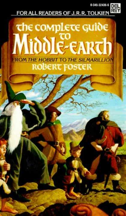 J.R.R. Tolkien Books - The Complete Guide to Middle-Earth: From the Hobbit to the Silmarillion