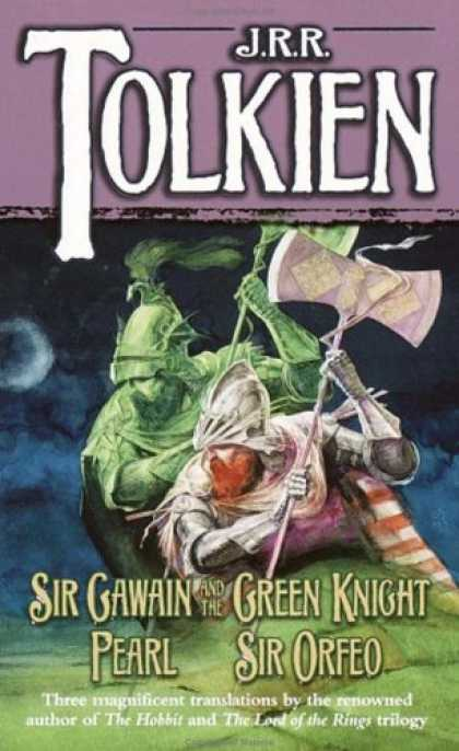 J.R.R. Tolkien Books - Sir Gawain and the Green Knight, Pearl, Sir Orfeo