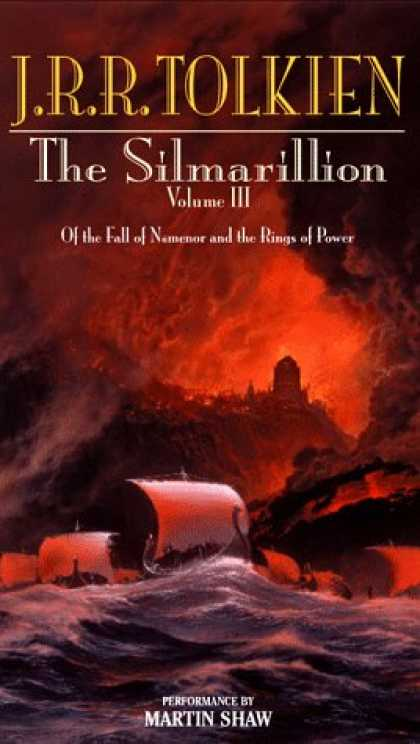J.R.R. Tolkien Books - The Silmarillion, Vol. 3