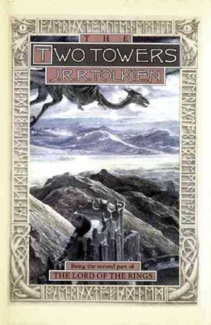 J.R.R. Tolkien Books - The Two Towers (The Lord of the Rings, Part 2)