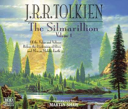 J.R.R. Tolkien Books - The Silmarillion, Vol. 1