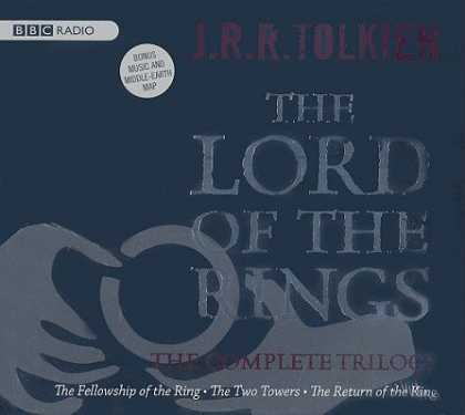 J.R.R. Tolkien Books - Lord of the Rings: The Complete Trilogy [With Middle Earth Map and CD] [BOXED-LO