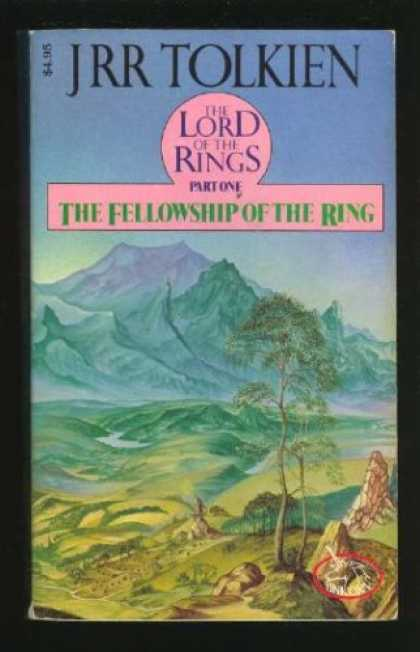 J.R.R. Tolkien Books - The Fellowship of the Ring (Lord of the Rings Vol.1)